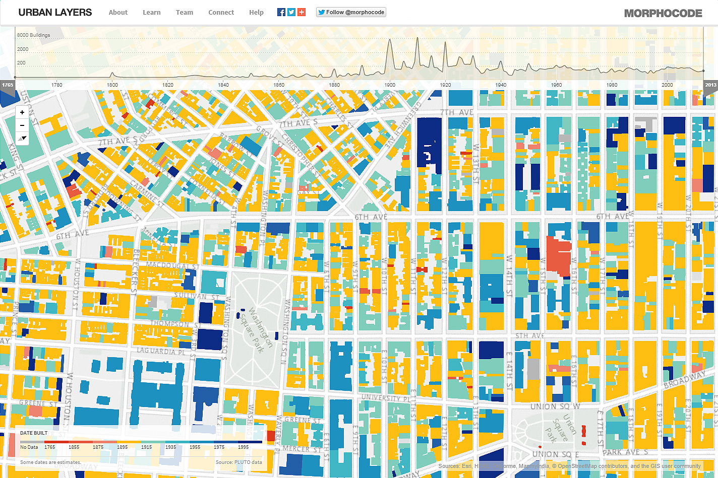 Urban Layers Explore The Structure Of Manhattans Urban Fabric - Manhattan in us map